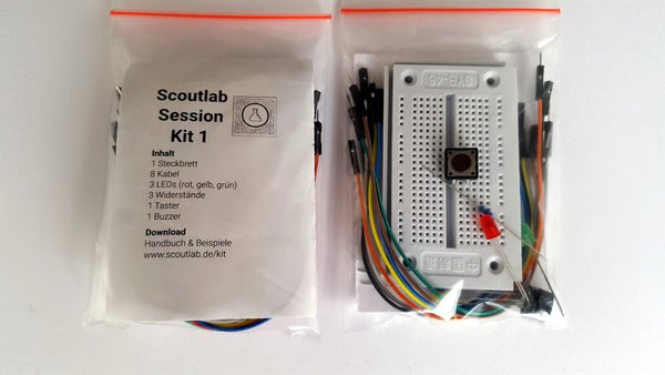 Scoutlab Session Kit 1 für Arduino