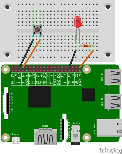 Scoutlab Session Kit 1 - LED mit einem Taster schalten – VCP Scoutlab